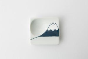 50 重宝皿 富士山 青2-item