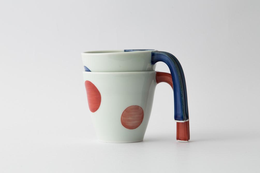 27 e-マグ 二色丸紋集合1-item