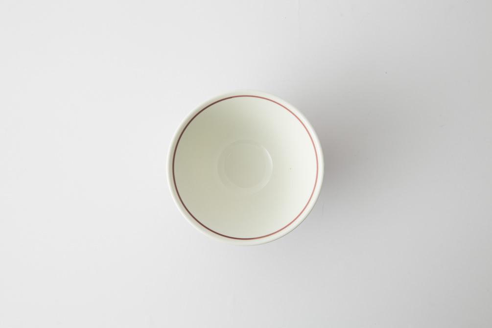 132 ヘリンボーン 茶碗 マロン3-item
