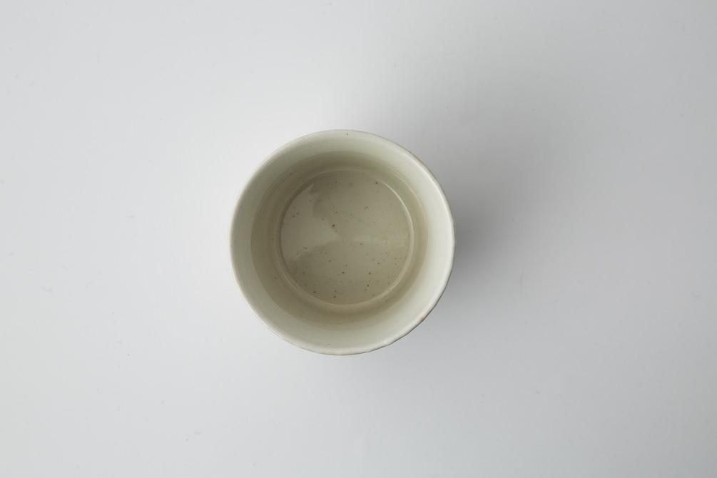 161 P鹿の子 そば猪口 ホワイト3-item