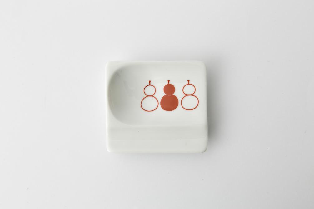 53 重宝皿 ひょうたん 赤2-item