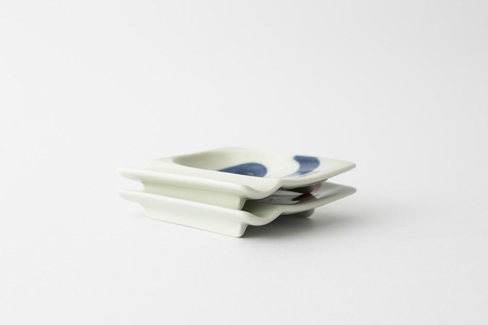 48 重宝皿 渦紋集合1-item