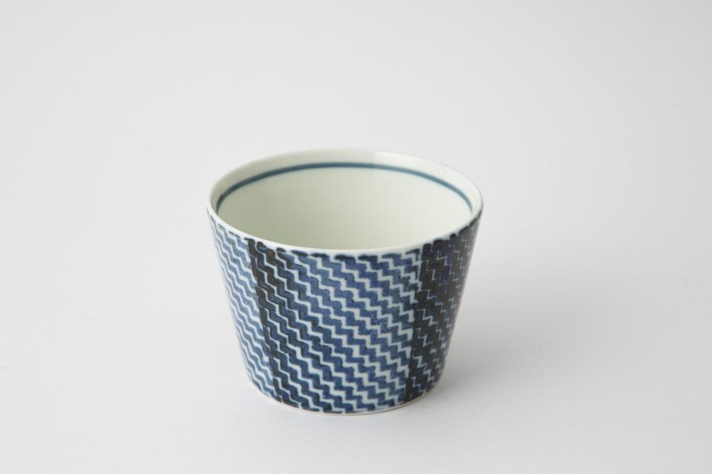 145 シャークスキン そば猪口 ブルー2-item