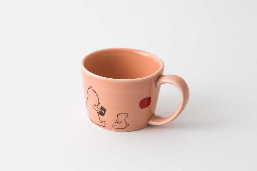 89 H KUMA マグ ピンク2-item