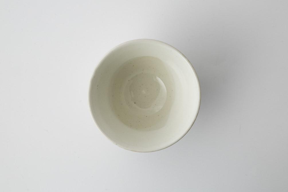 185 Pシャークスキン 茶碗 ホワイト3-item