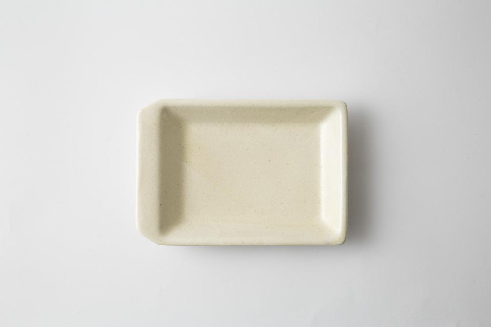 236 KIRITORU IRON プレート小 アイボリー2-item