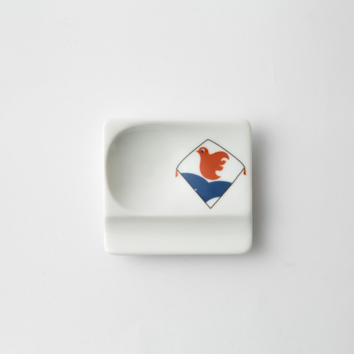 248 重宝皿 長崎凧 波に千鳥2-item