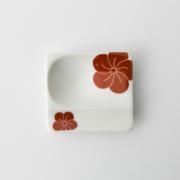 55 重宝皿 梅 赤2-item