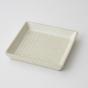 163 P鹿の子 正角皿1-item