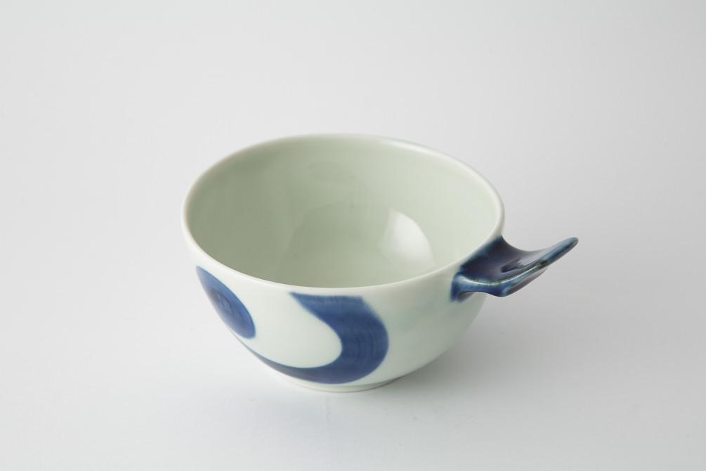 72 e-ボウル 渦紋 青2-item