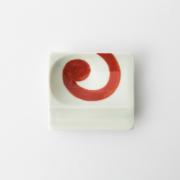 48 重宝皿 渦紋 赤2-item