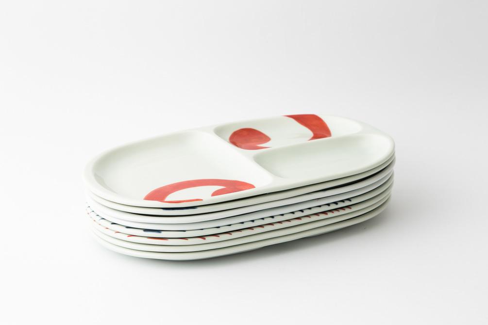 71,大人の仕切り皿 集合2-item