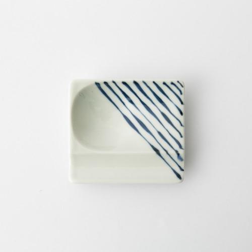 43 重宝皿 つれづれ十草 青2-item