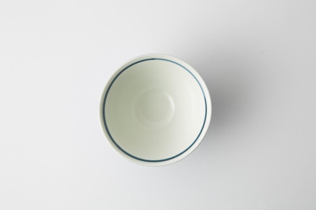 141 シャークスキン 茶碗 ブルー3-item