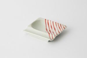 44 重宝皿 つれづれ十草 赤1-item