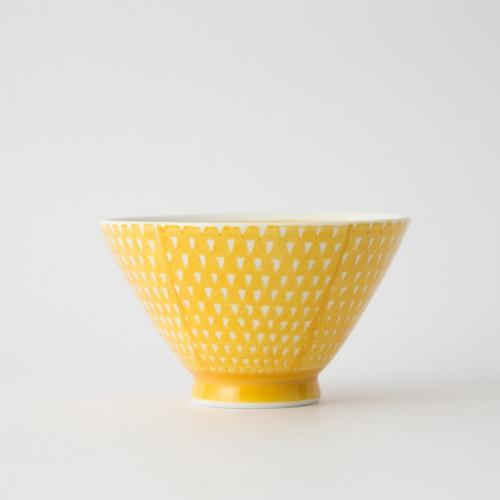 119 鹿の子 茶碗 イエロ1-item