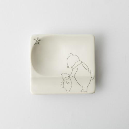 85 H KUMA 重宝皿 グレー2-item