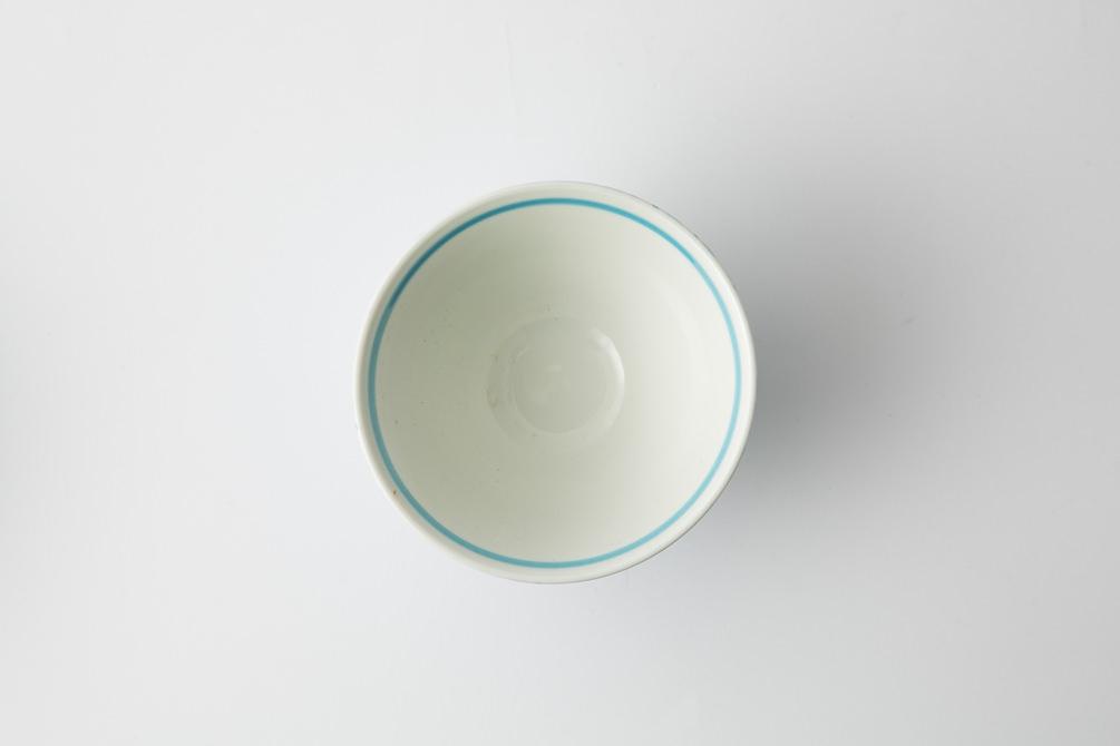142 シャークスキン 茶碗 アクアブルー3-item
