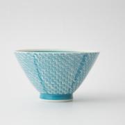 142 シャークスキン 茶碗 アクアブルー1-item