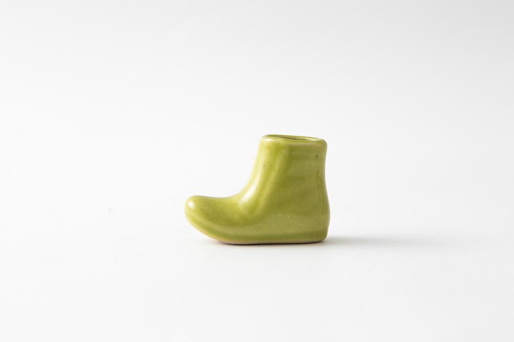 257 一輪はしおき ブーツ グリーン1-item