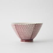 120 鹿の子 茶碗 マロン1-item