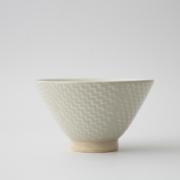 185 Pシャークスキン 茶碗 ホワイト1-item