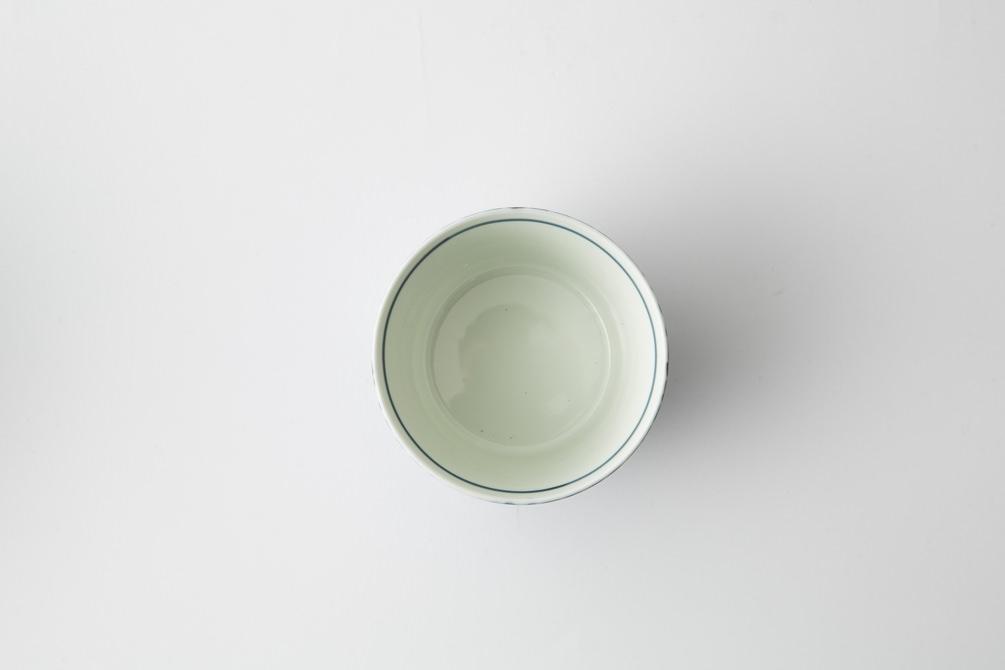 145 シャークスキン そば猪口 ブルー3-item