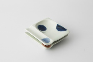 36 重宝皿 二色丸紋 集合2-item
