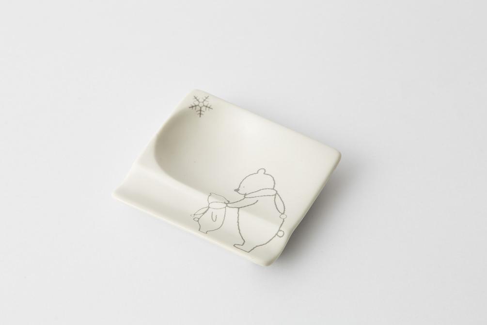 85 H KUMA 重宝皿 グレー1-item