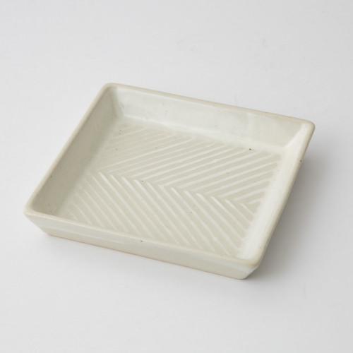 176 Pヘリンボーン 正角皿1-item