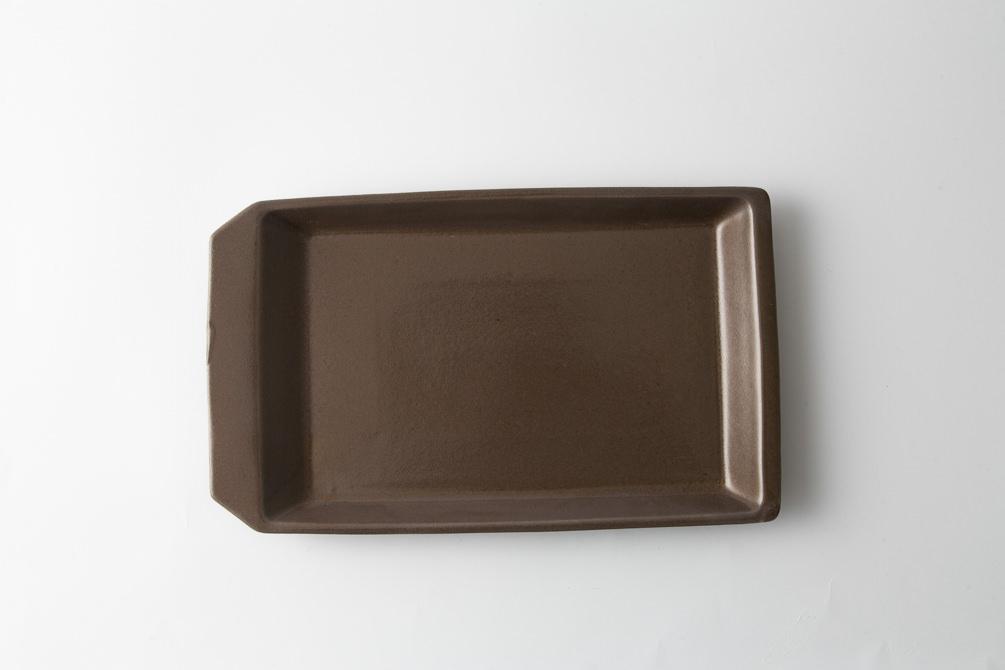 242 KIRITORU IRON プレート大 ボルドー2-item