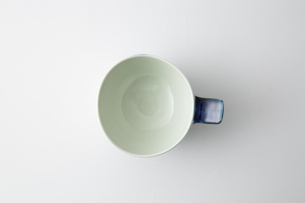 72 e-ボウル 渦紋 青3-item
