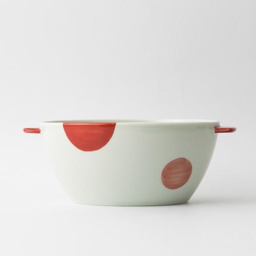 e-丼 二色丸紋 赤1-item