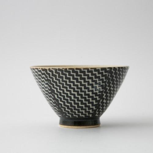 186 Pシャークスキン 茶碗 ブラウン1-item