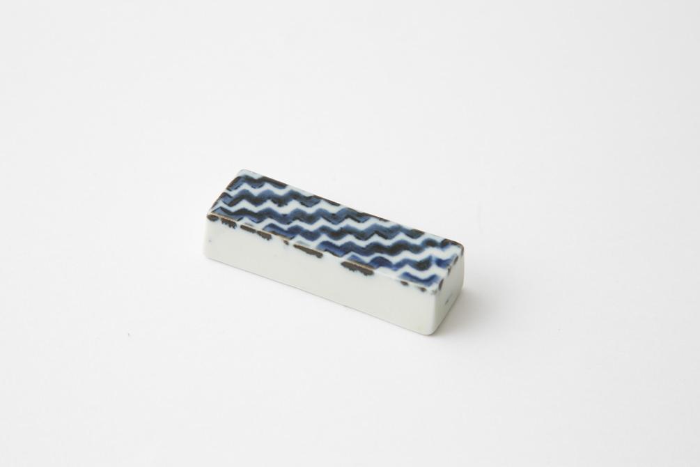 149 シャークスキン はしおき ブルー1-item