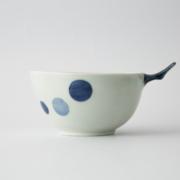 76 e-ボウル 二色まる紋 青1-item