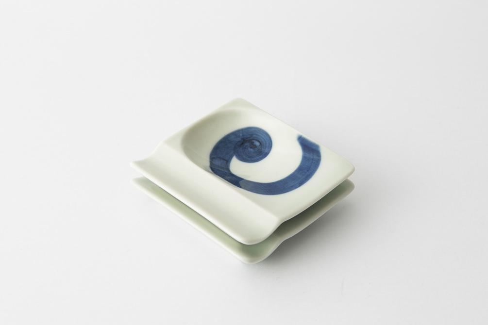 48 重宝皿 渦紋集合2-item