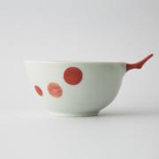 77 e-ボウル 二色まる紋 赤1-item