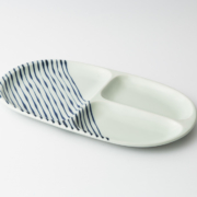 68 大人の仕切り皿  つれづれ十草 青1-item