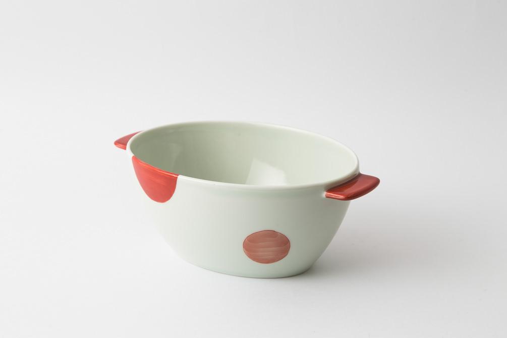 e-丼 二色丸紋 赤2-item