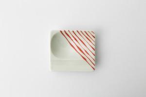 44 重宝皿 つれづれ十草 赤2-item