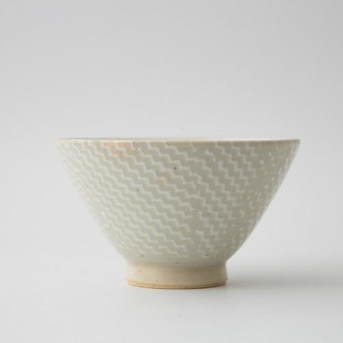 184 Pシャークスキン 茶碗大 ホワイト1-item