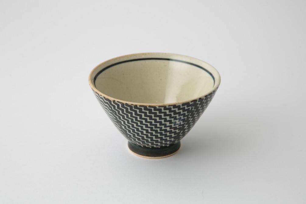 186 Pシャークスキン 茶碗 ブラウン2-item