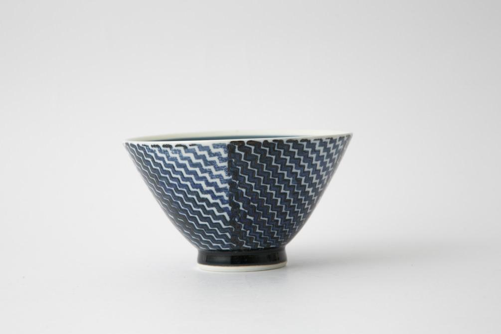 141 シャークスキン 茶碗 ブルー1-item