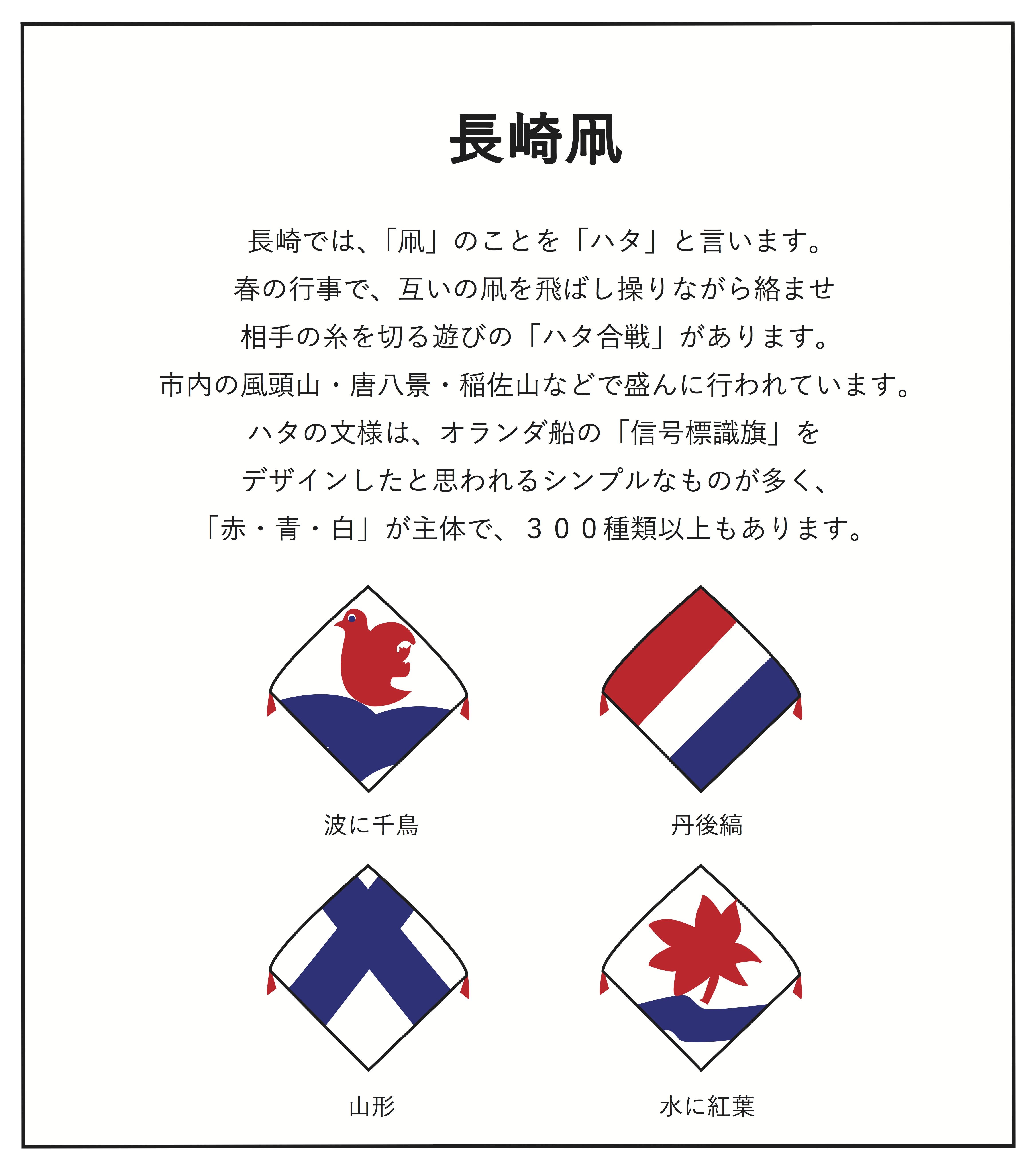 長崎旗POP